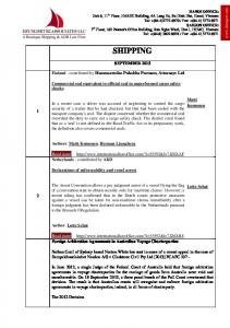 10212013 Newsletter SHIPPING SEPTEMBER BY DBHM.pdf ...