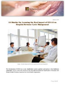 18 Months On Learning the Real Impact of ICD-10 on Hospital ...