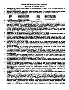1995 General Livestock Rules
