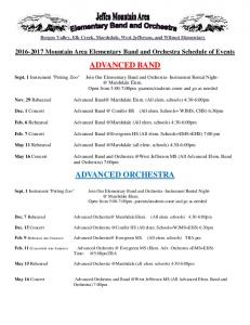2016-17 Schedule of Events by group revised.pdf