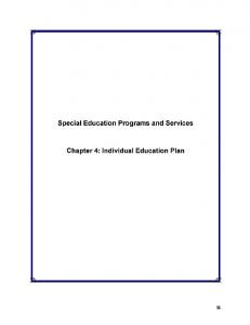 2016 Special Ed. Report Chapter 4.pdf