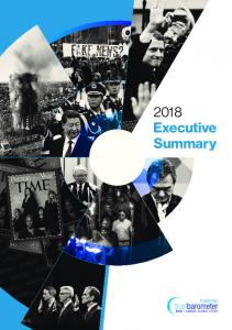 2018 Executive Summary - Edelman