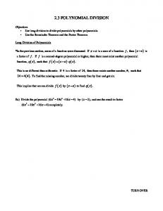 2.3 Polynomial Division.pdf