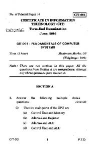 Multiple Choice Type Questions) Cyber law and     - - PDFKUL COM