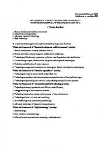 5LIST OF PRIORITY DIRECTION AND CORE TECHNOLOGY.pdf ...