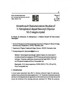 8.Growth-and-characterization-studies-of-4-Nitrophenol-doped ...