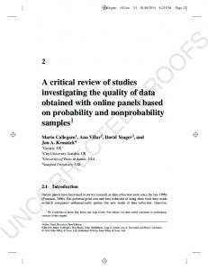 A critical review of studies investigating the quality ... - Semantic Scholar