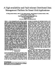 A High-availability and Fault-tolerant Distributed Data Management ...