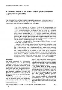 A taxonomic revision of the North American ... - Wiley Online Library