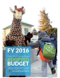 Adopted FY16 FCCPS Budget