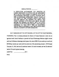 Agreement with United Healthcare-Medicare eligible retirees.pdf