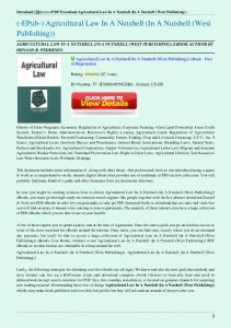 Agricultural-Law-In-A-Nutshell-In-A-Nutshell-West-Publishing.pdf