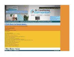 Air Conditioning Edmonton Links - Air Conditioning Edmonton.pdf ...