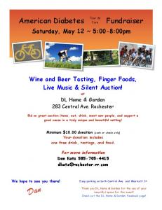American Diabetes Fundraiser - Tour de Cure