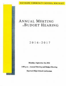 Annual Meeting and Budget Hearing 2016-17.pdf