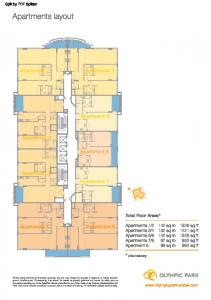 Apartments layout -
