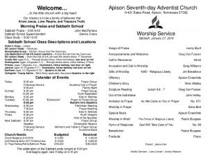 Apison Ensemble - Apison Seventh-day Adventist Church