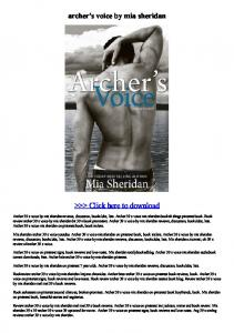 archer's voice by mia sheridan.pdf