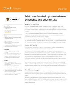Ariat uses data to improve customer experience and drive ...