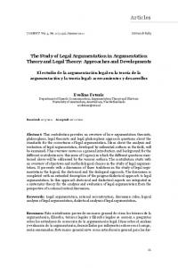Articles - COGENCY | Journal of Reasoning and Argumentation