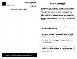 At Home Study Guide
