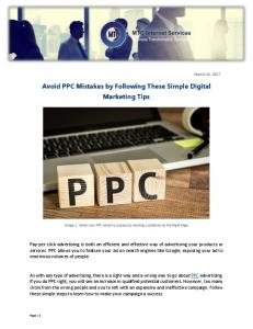 Avoid PPC Mistakes by Following These Simple Digital Marketing ...