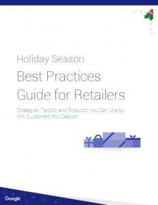 Best Practices Guide for Retailers - AMA Atlanta