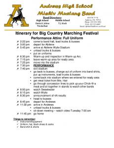 Big Country Marching Festival itinerary.pdf