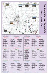 Bookmobile Schedule May 2014 -
