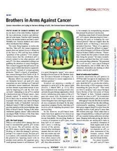 Brothers in Arms Against Cancer