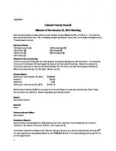 Calumet County Council meeting Minutes_20140123.pdf  ...