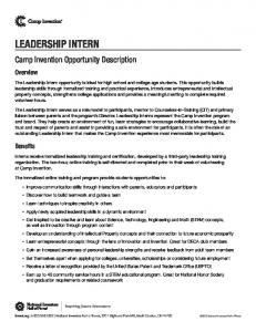 Camp Invention Leadership Intern Opportunity Description (1).pdf ...
