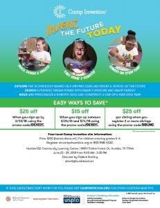 Camp Invention Multi Discount Flyer Humble 2018.pdf