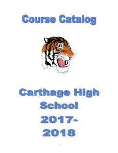Carthage High School Course Catalog 2017-2018.pdf