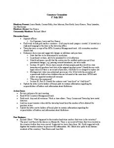 Cemetery Committee Minutes 17 July 2013.pdf