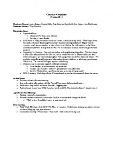 Cemetery Committee Minutes 25 June 2013.pdf