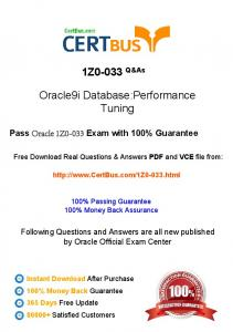 CertBus-Oracle-1Z0-033-Study-Materials-Braindumps-With-Real ...