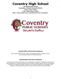 CHS Student Handbook SY 18 -- FINAL -- posted to web.pdf  ...
