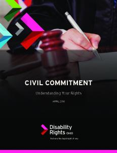 civil commitment - Disability Rights Ohio