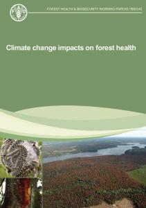 Climate change impacts on forest health. FAO pags 45.pdf  ...