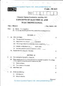 Concepts of Electrical & Electronics Engg May 2013 (2009 Scheme ...