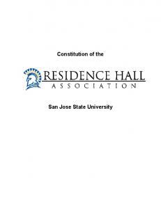 Constitution of the San Jose State University -
