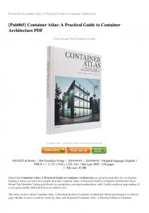 container-atlas-a-practical-guide-to-container-architecture-PDF ...