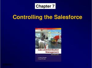 Controlling the Salesforce -