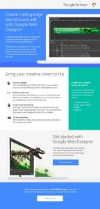Create cutting-edge banners and ads with Google ...  Services