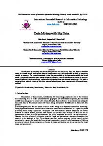 Data Mining with Big Data  - International Journal of ...