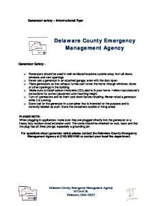 Delaware County Emergency Management Agency