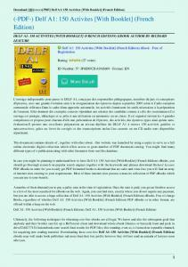 Delf-A1-150-Activites-With-Booklet-French-Edition.pdf