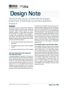 Design Note - Analog Devices