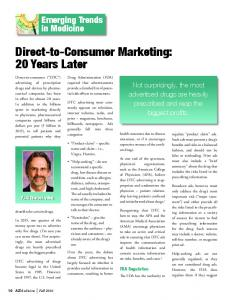Direct-to-Consumer Marketing: 20 Years Later - Snell & Wilmer